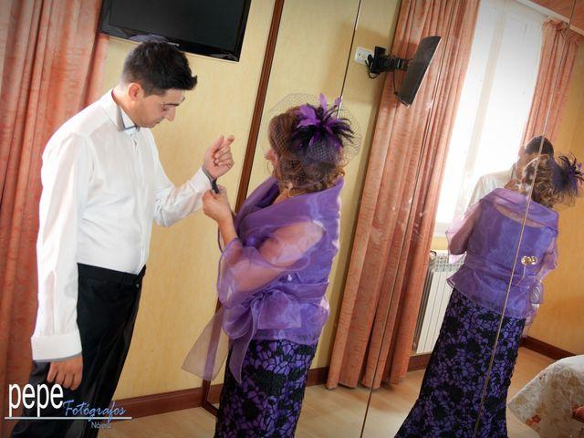 La boda de Javi y Laura en Navarrete, La Rioja 5
