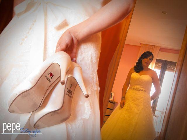 La boda de Javi y Laura en Navarrete, La Rioja 12
