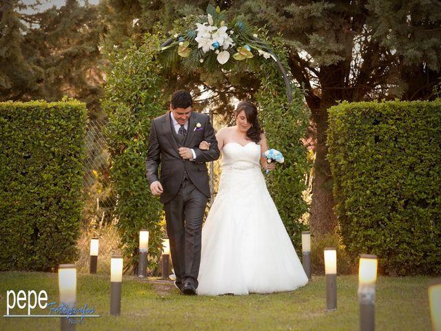 La boda de Javi y Laura en Navarrete, La Rioja 19