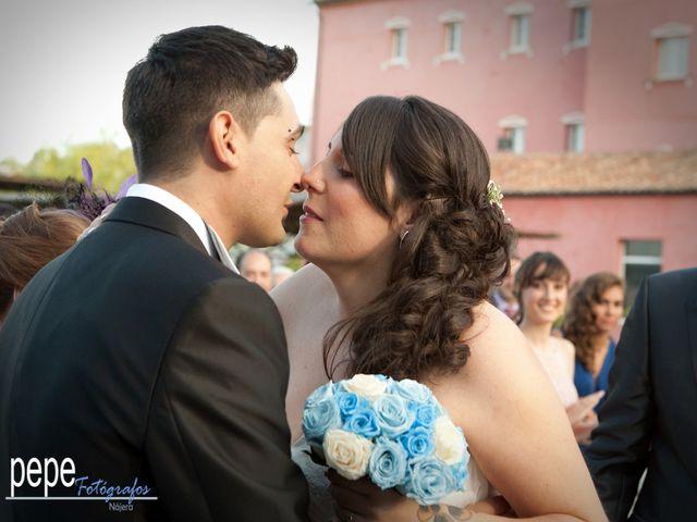 La boda de Javi y Laura en Navarrete, La Rioja 20