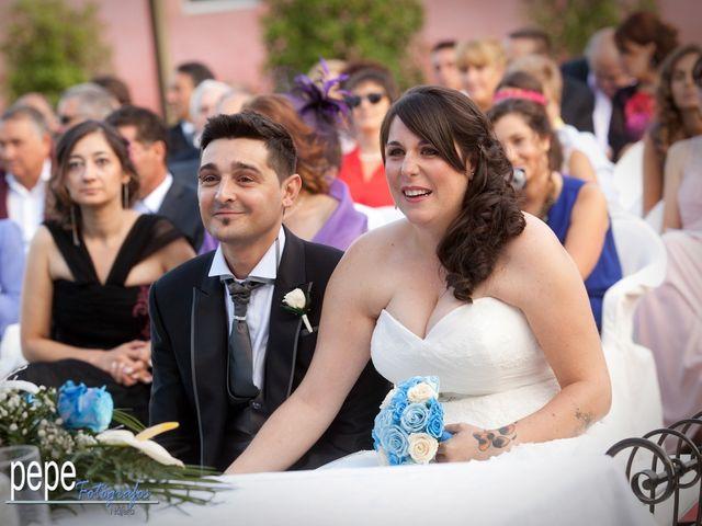 La boda de Javi y Laura en Navarrete, La Rioja 24