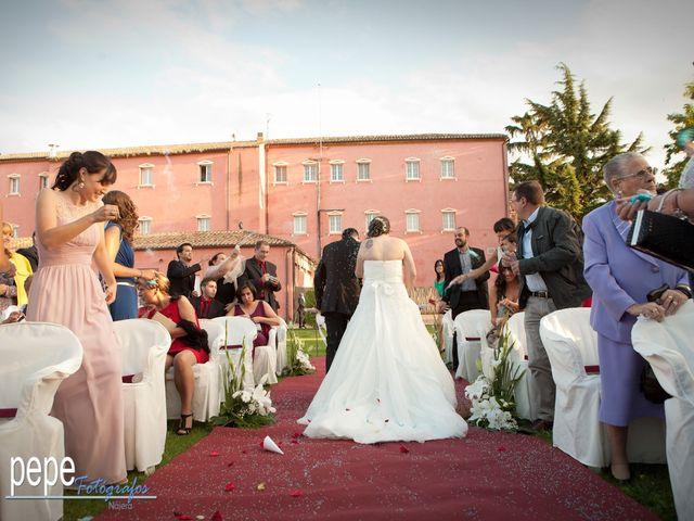 La boda de Javi y Laura en Navarrete, La Rioja 30