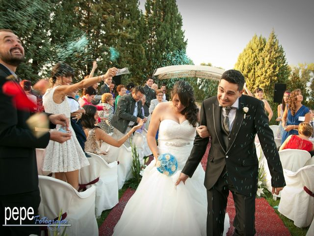 La boda de Javi y Laura en Navarrete, La Rioja 31