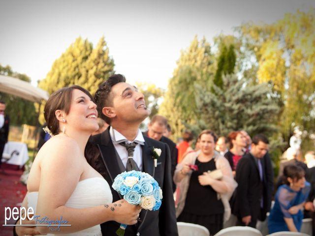 La boda de Javi y Laura en Navarrete, La Rioja 33