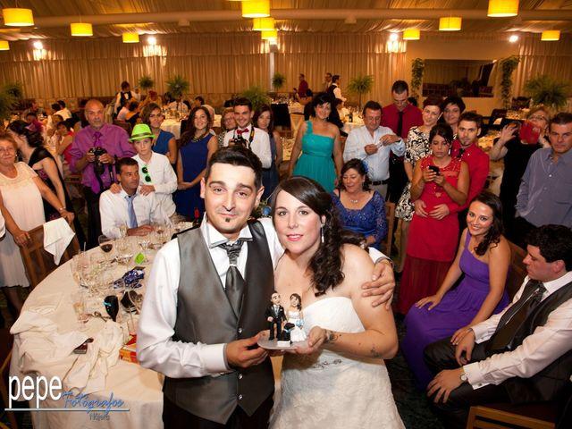 La boda de Javi y Laura en Navarrete, La Rioja 43