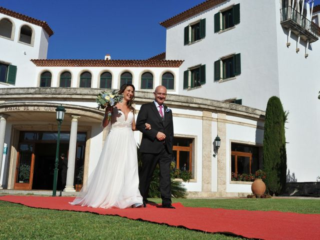 La boda de Griselda y Giovanni en S'agaro, Girona 34