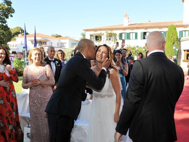 La boda de Griselda y Giovanni en S'agaro, Girona 35