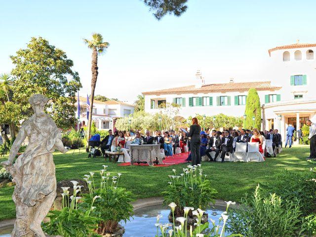 La boda de Griselda y Giovanni en S'agaro, Girona 37