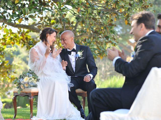 La boda de Griselda y Giovanni en S'agaro, Girona 40