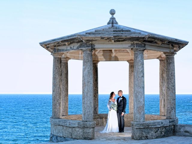 La boda de Griselda y Giovanni en S'agaro, Girona 48