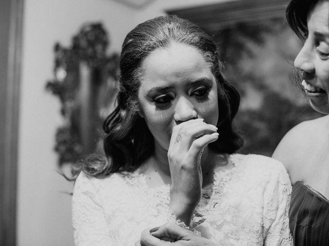 La boda de Rodrigo y Shelika en Navalafuente, Madrid 17