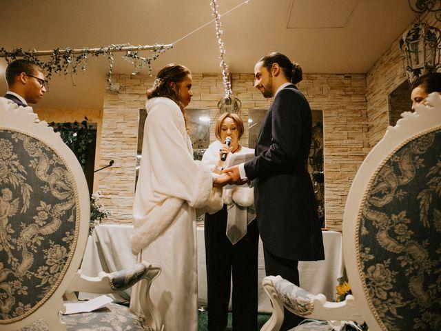 La boda de Rodrigo y Shelika en Navalafuente, Madrid 27