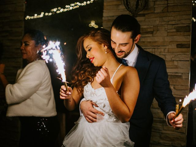 La boda de Rodrigo y Shelika en Navalafuente, Madrid 43