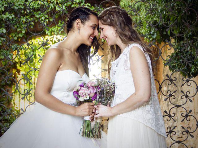 La boda de Dàlia  y Raphaela