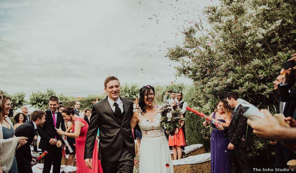 La boda de Antoine y Cristina en Fares, Girona