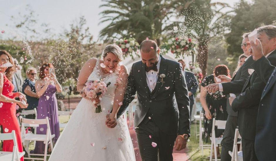 La boda de Céline  y Fran en Galdar, Las Palmas