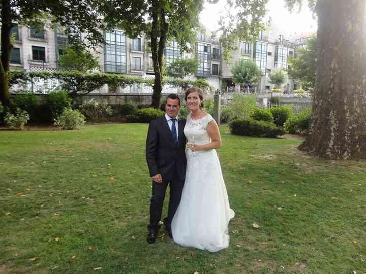 La boda de Alba y Andres
