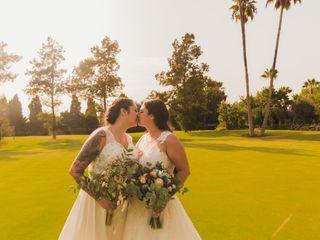 La boda de Alba y Rebeca