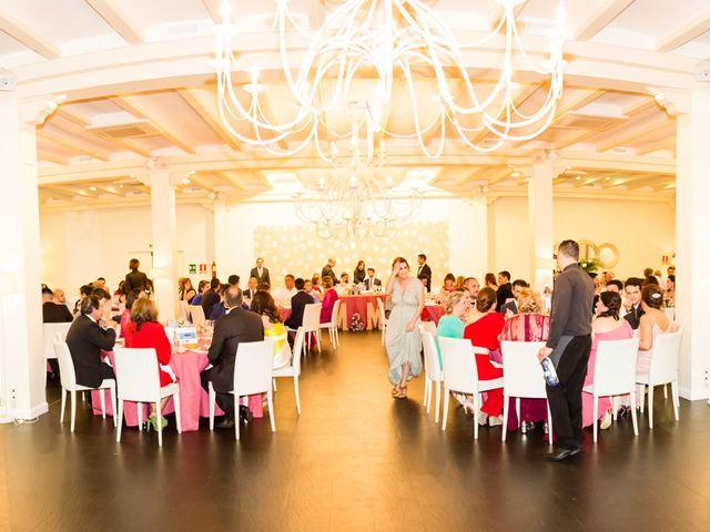 La boda de Miguel y Mise en Esquivias, Toledo 1