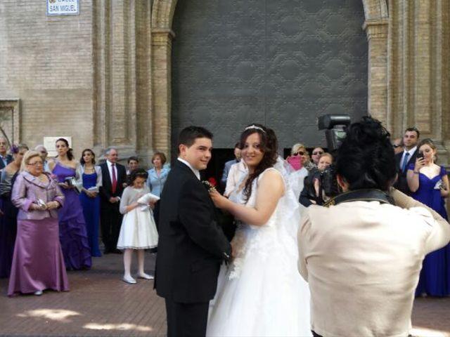 La boda de David y Sheila en Zaragoza, Zaragoza 1
