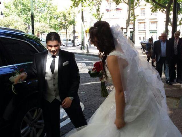 La boda de David y Sheila en Zaragoza, Zaragoza 6