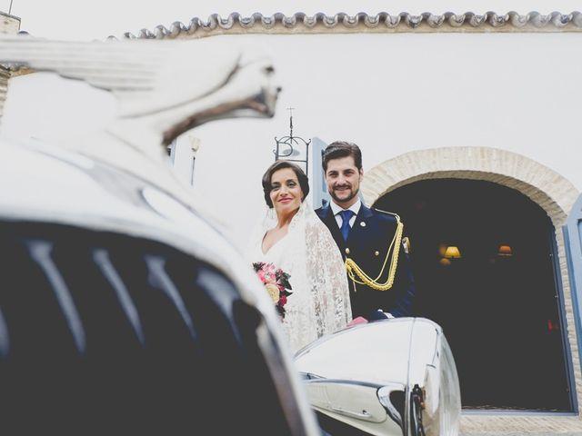 La boda de Mario y Marga en Villanueva Del Ariscal, Sevilla 9