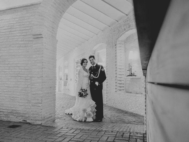 La boda de Mario y Marga en Villanueva Del Ariscal, Sevilla 12
