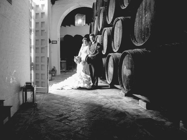 La boda de Mario y Marga en Villanueva Del Ariscal, Sevilla 13