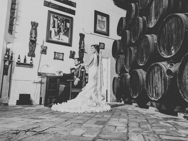 La boda de Mario y Marga en Villanueva Del Ariscal, Sevilla 16