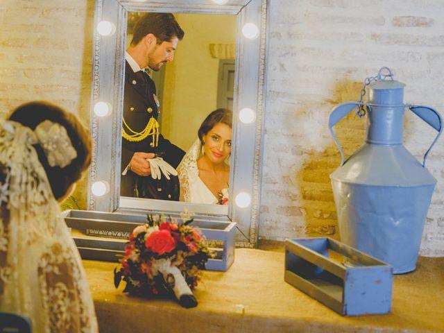 La boda de Mario y Marga en Villanueva Del Ariscal, Sevilla 17