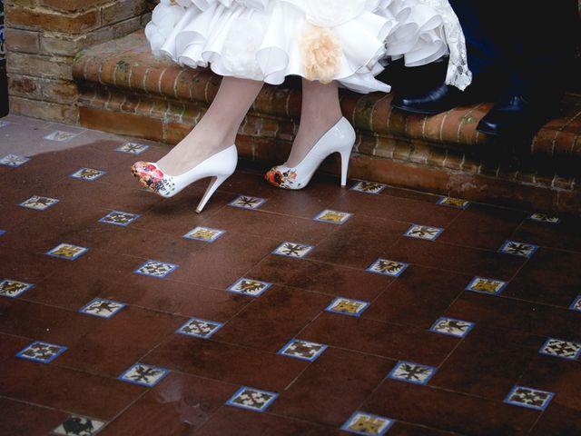 La boda de Mario y Marga en Villanueva Del Ariscal, Sevilla 18