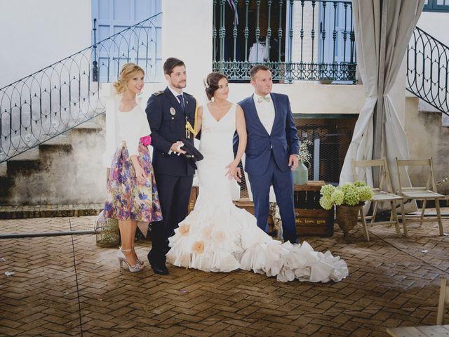 La boda de Mario y Marga en Villanueva Del Ariscal, Sevilla 28
