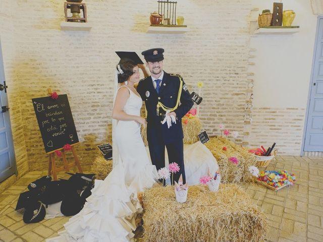 La boda de Mario y Marga en Villanueva Del Ariscal, Sevilla 30