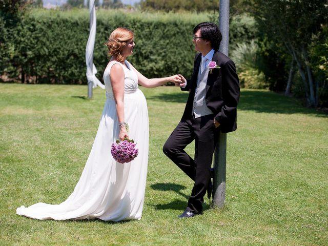 La boda de Sun Gyo y Cris en Las Rozas De Madrid, Madrid 9