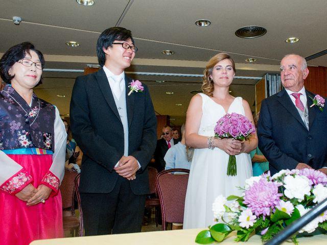La boda de Sun Gyo y Cris en Las Rozas De Madrid, Madrid 27