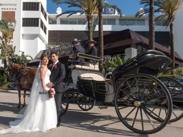 La boda de Fran y Sabrina en Estepona, Málaga 1