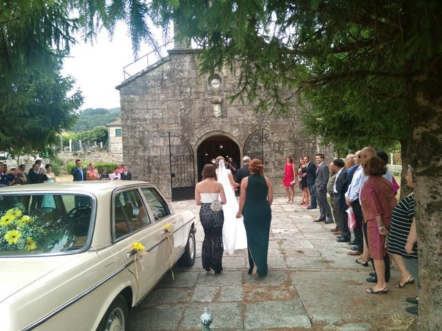 La boda de Andres y Alba en O Covelo (Santiago), Pontevedra 7