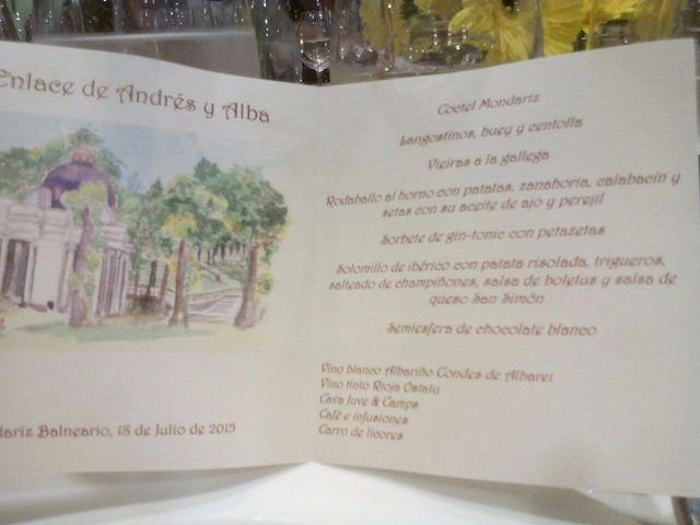 La boda de Andres y Alba en O Covelo (Santiago), Pontevedra 9