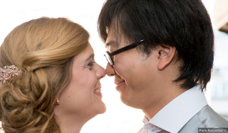 La boda de Sun Gyo y Cris en Las Rozas De Madrid, Madrid