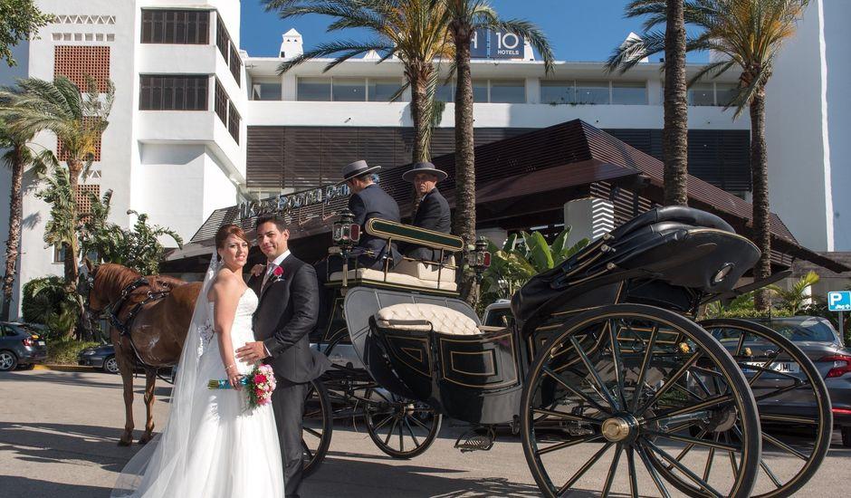 La boda de Fran y Sabrina en Estepona, Málaga