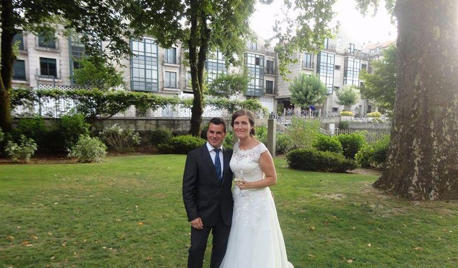 La boda de Andres y Alba en O Covelo (Santiago), Pontevedra