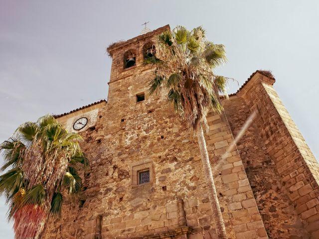 La boda de Juan María y María en Valverde De Merida, Badajoz 16