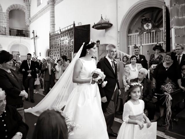 La boda de Juan María y María en Valverde De Merida, Badajoz 18
