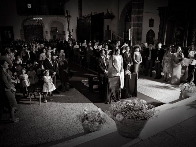 La boda de Juan María y María en Valverde De Merida, Badajoz 19