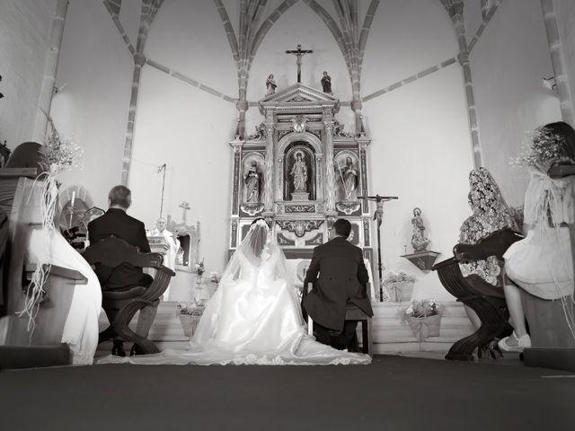 La boda de Juan María y María en Valverde De Merida, Badajoz 21