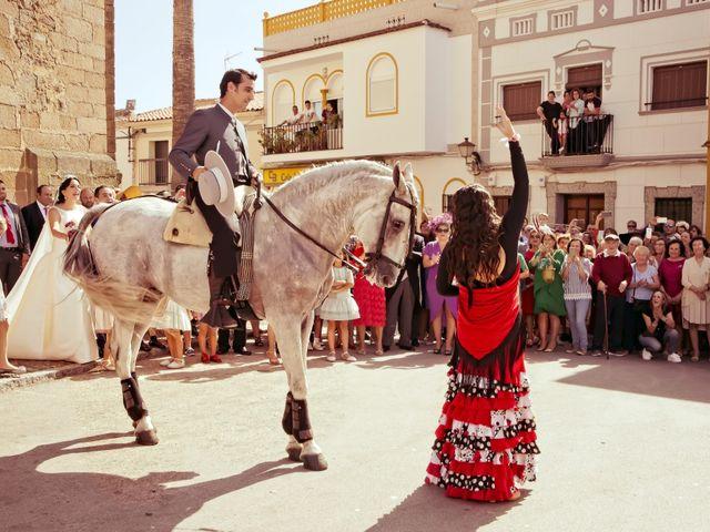 La boda de Juan María y María en Valverde De Merida, Badajoz 26