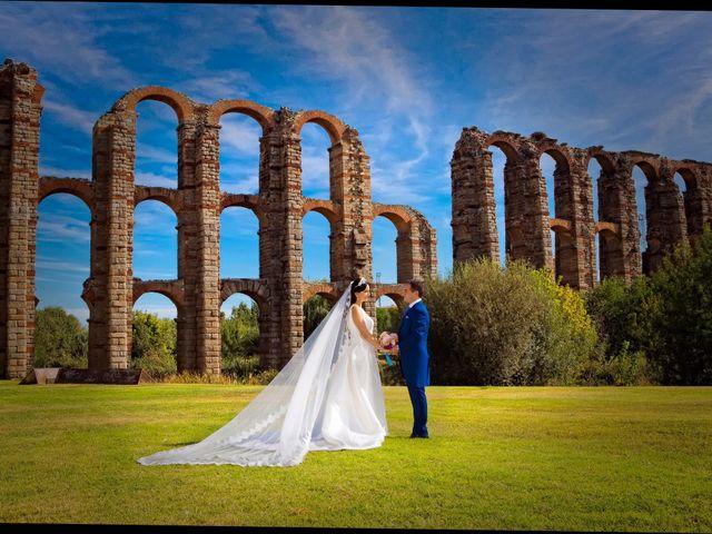 La boda de Juan María y María en Valverde De Merida, Badajoz 27