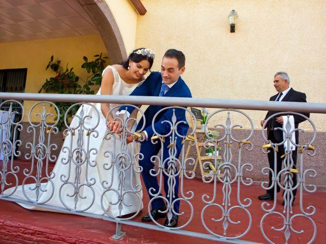 La boda de Juan María y María en Valverde De Merida, Badajoz 28