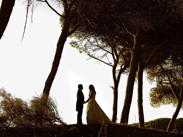 La boda de Juan María y María en Valverde De Merida, Badajoz 1