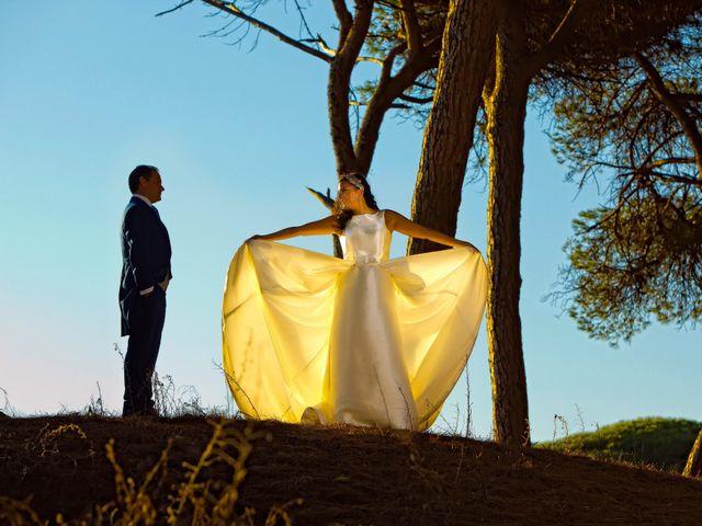 La boda de Juan María y María en Valverde De Merida, Badajoz 2